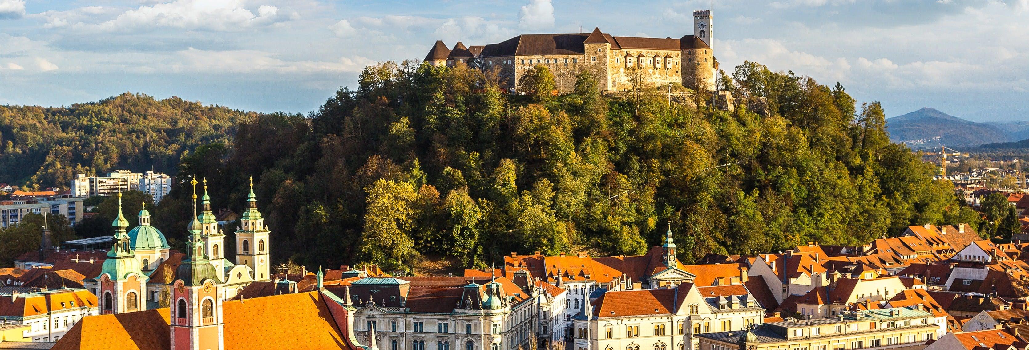Excursão a Liubliana e Bled