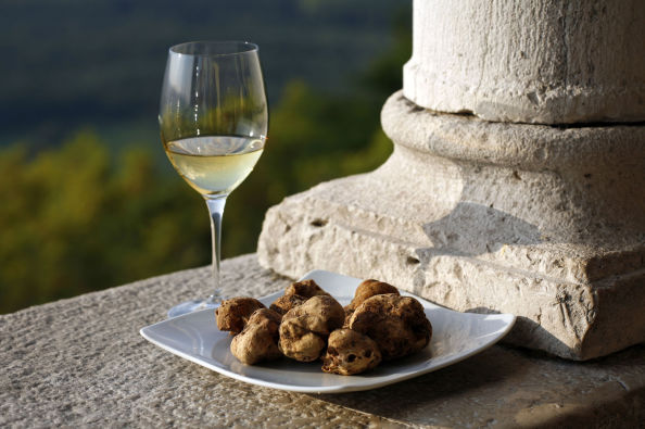 Enjoying the flavours of Istria