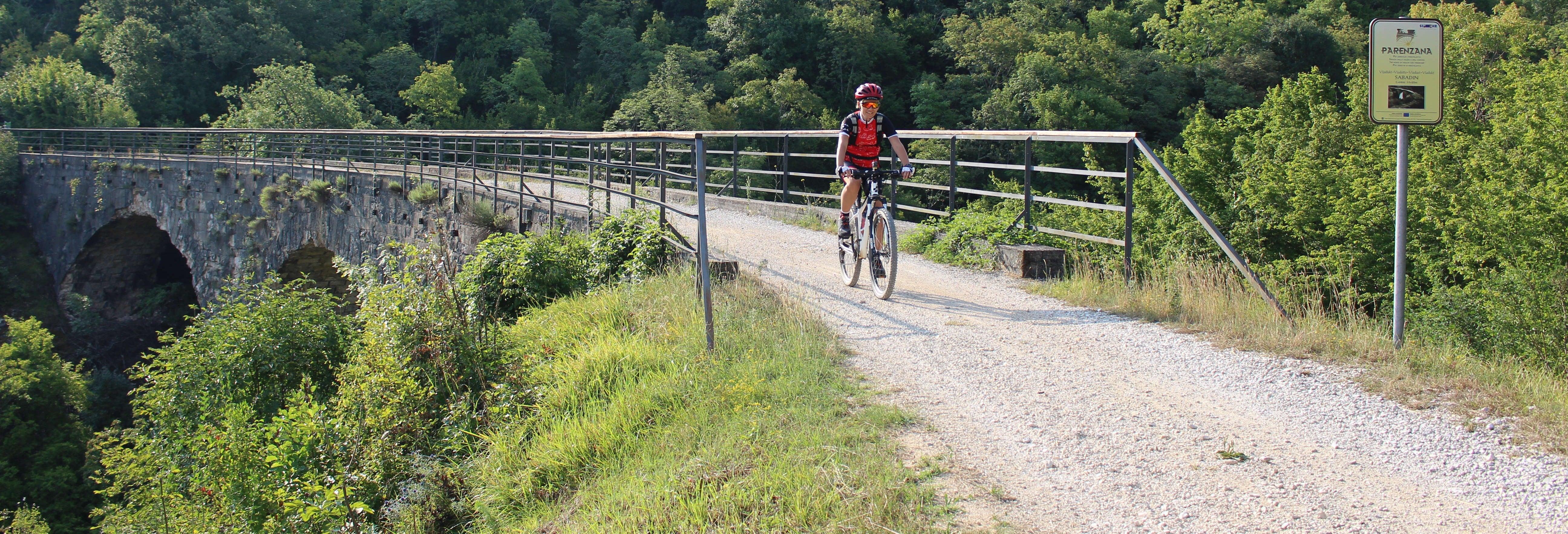 Balade à vélo le long de la Parenzana