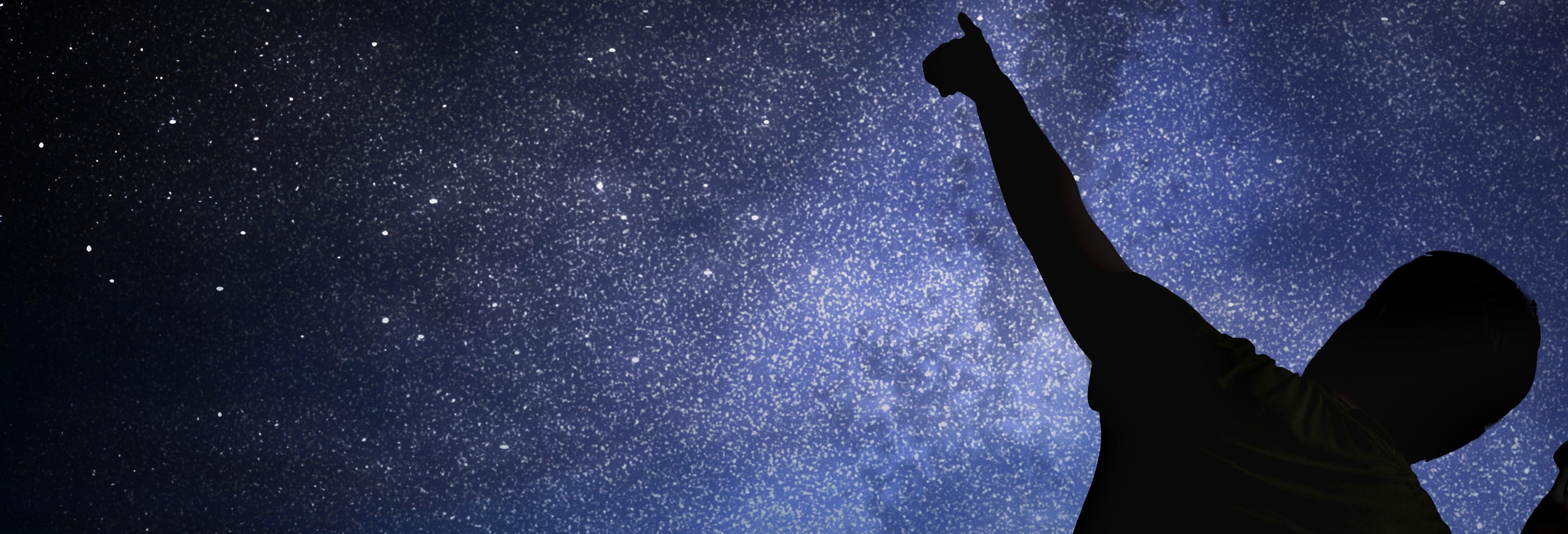 Observación de estrellas en Alájar
