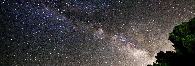Observación de estrellas en la Ermita de San Bartolomé