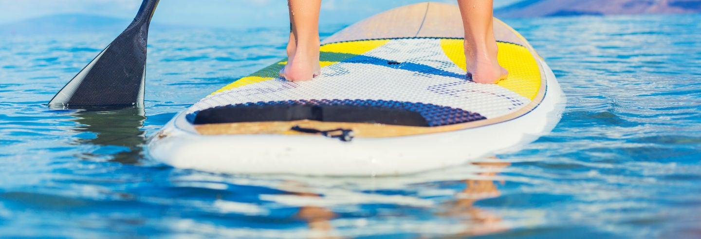 Tour en paddle surf por Albir