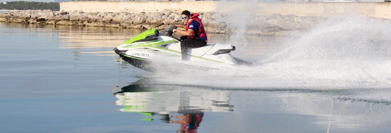Alquiler de motos de agua en Alcudia