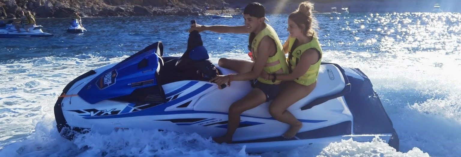 Cueva de Jack Sparrow en moto de agua desde Alcudia