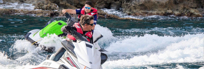 Excursión a Formentor en moto de agua