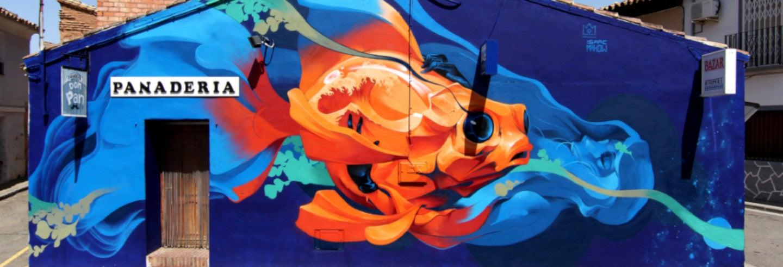 Tour de street art por Alfamén