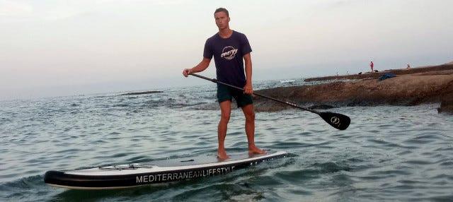 Tour en paddle surf por la Playa de San Juan