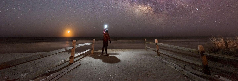 Senderismo nocturno en Cabo de Gata