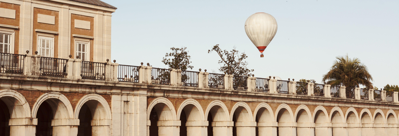 Paseo en globo por Aranjuez