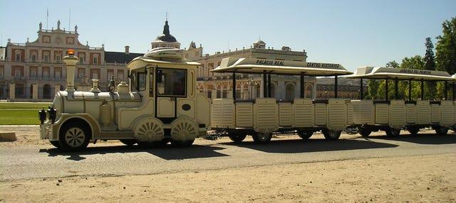 Tren turístico de Aranjuez