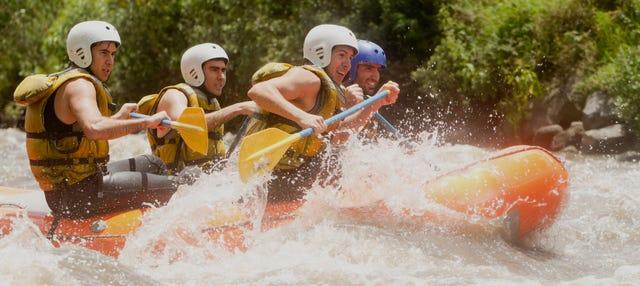 Rafting en el río Sella