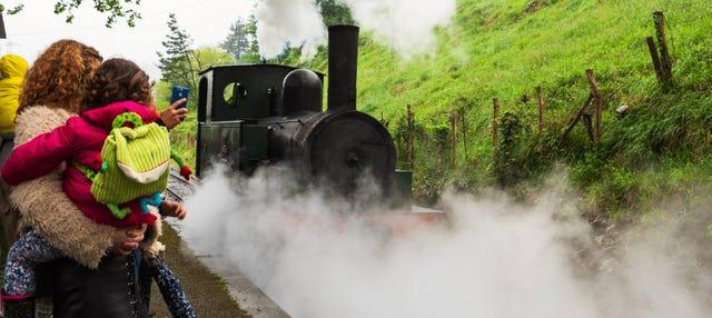 Visita guiada por el Museo Vasco del Ferrocarril