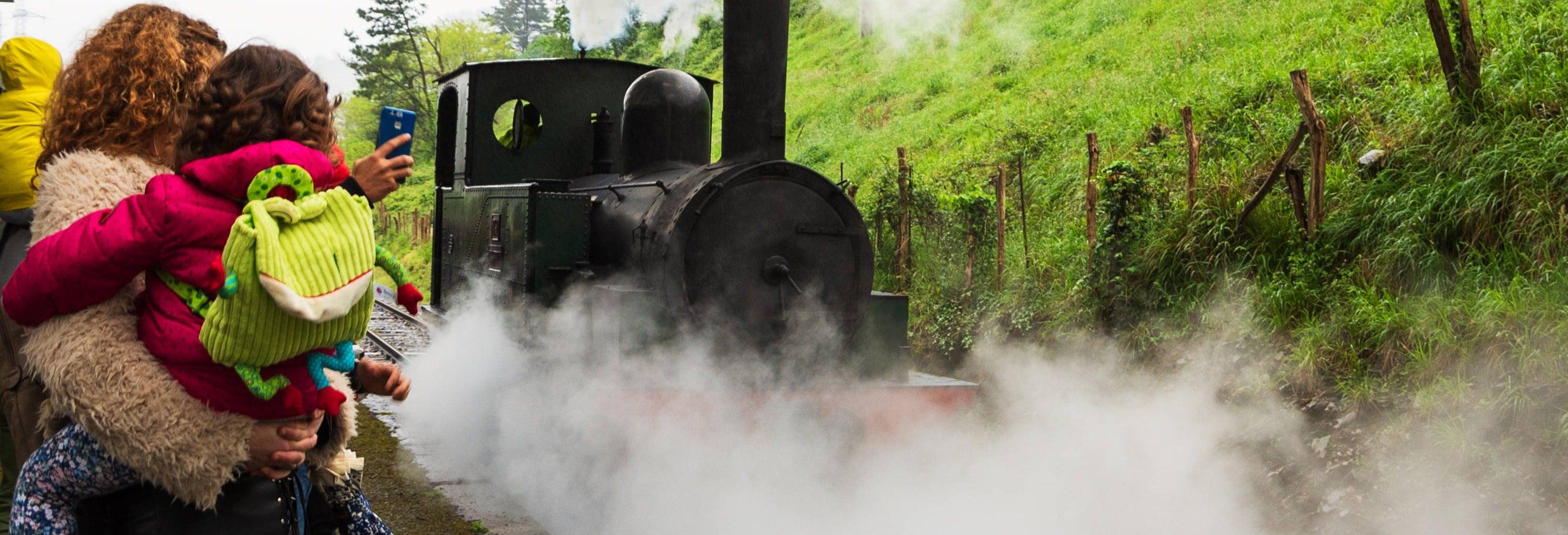 Visita guiada pelo Museu Basco do Trem