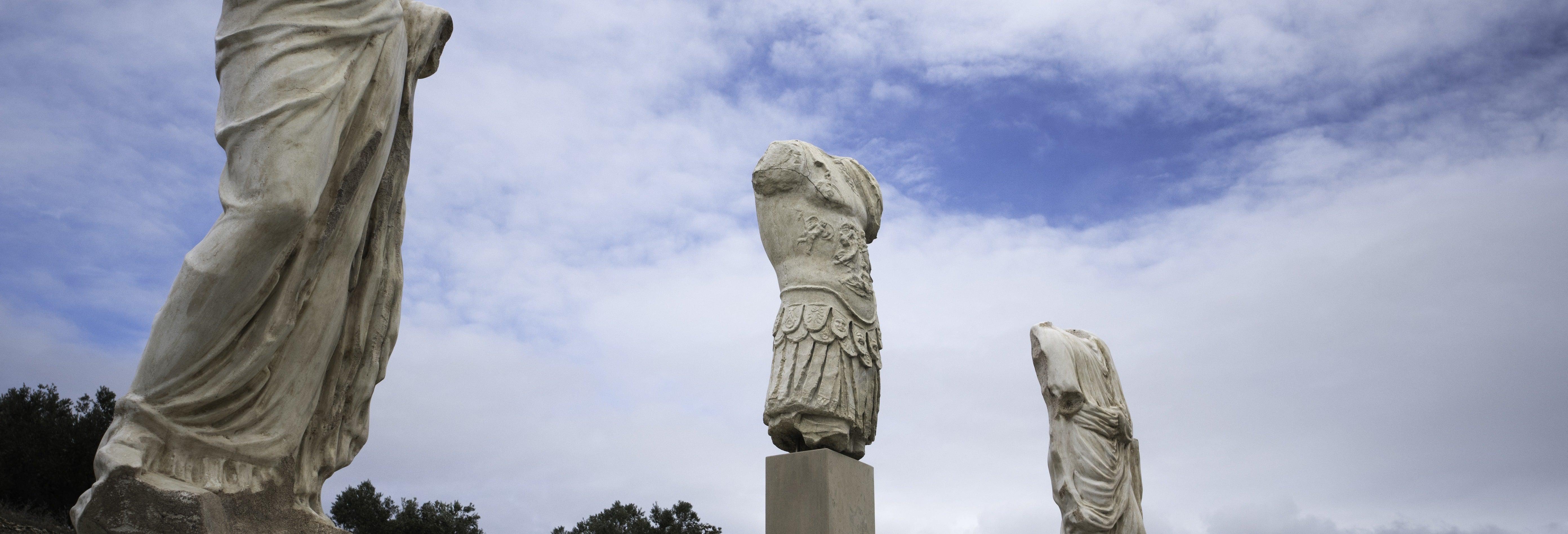 Visita guiada pelo sítio arqueológico de Torreparedones