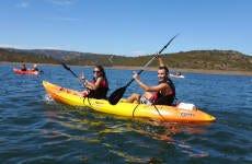 Tour en kayak por el embalse del Rumblar