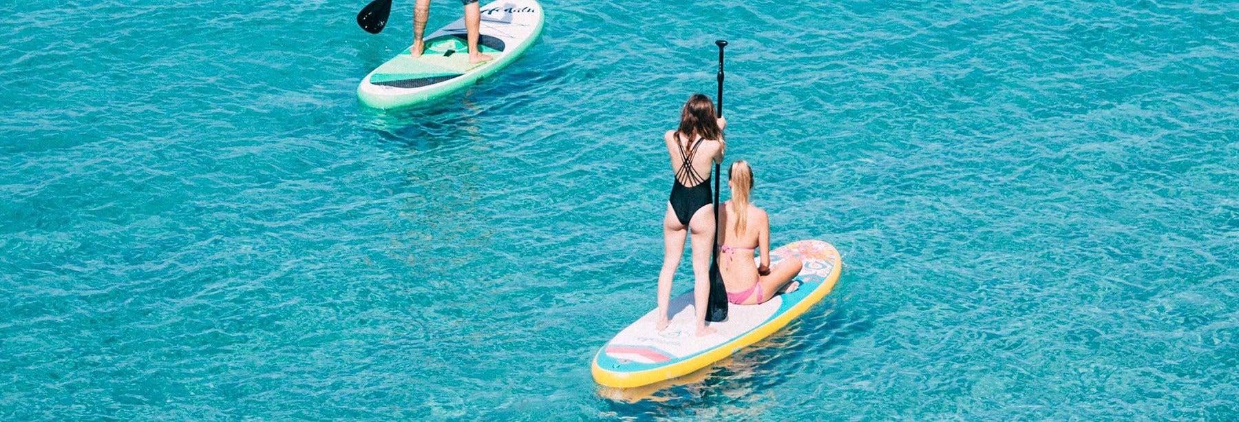 Lezione di paddle surf a Barcellona