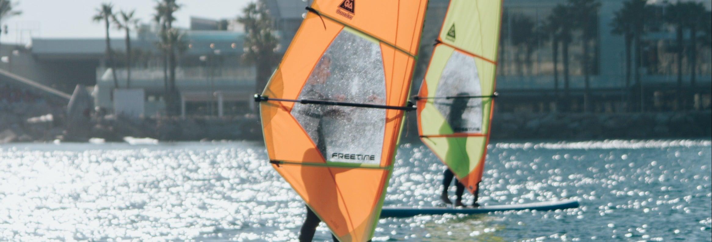 Corso di windsurf a Barcellona