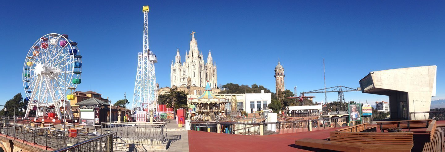 Billet pour le parc d'attractions du Tibidabo