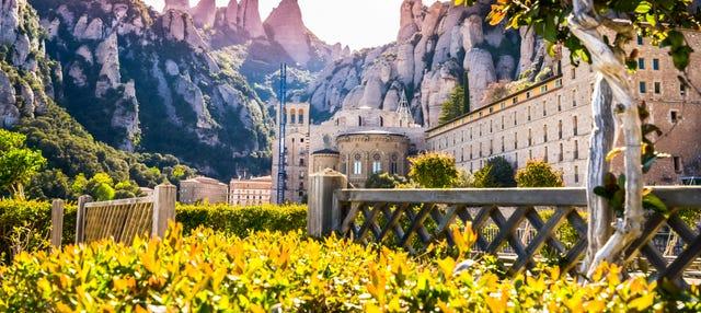 Montserrat por libre en autobús
