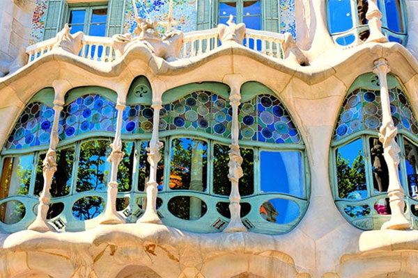 Cartina Della Francia Con Monumenti.Monumenti E Attrazioni Di Barcellona Luoghi Top Di Barcellona