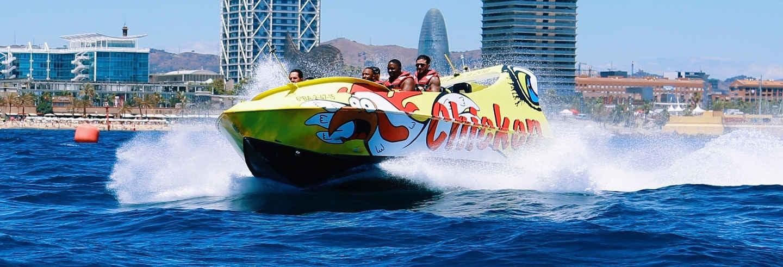 Experiencia Jet Boat en Barcelona