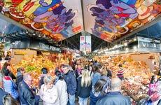 Tapas por el Mercado de La Boquería y Santa Caterina
