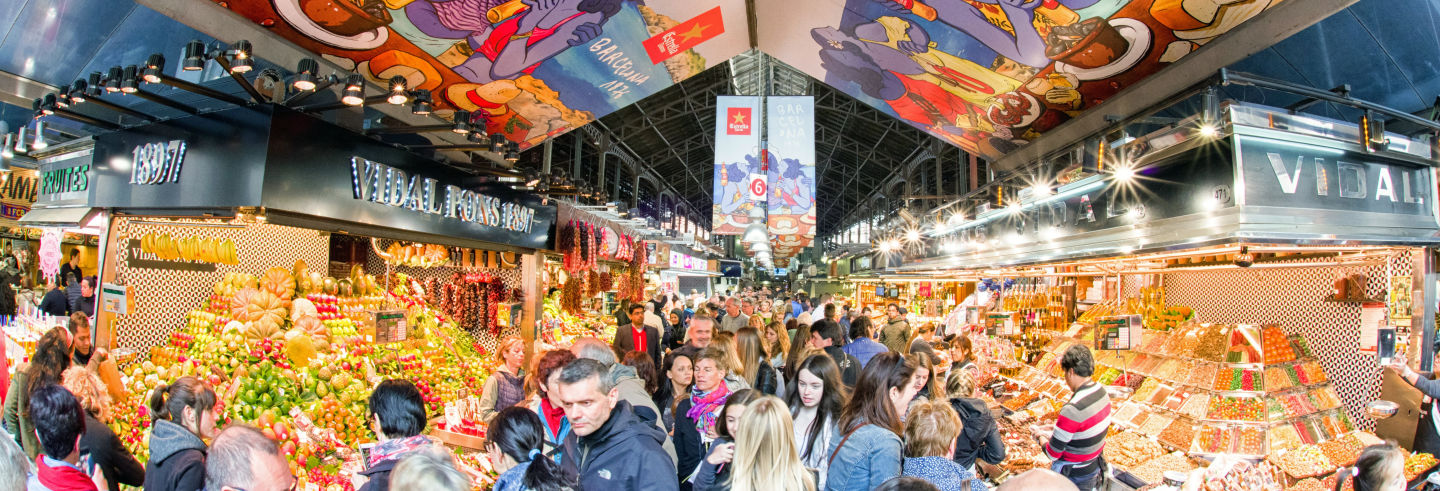 Tapas in the La Boqueria and Santa Caterina Markets