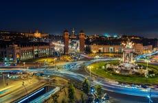 Tour nocturno por Barcelona y Fuente Mágica de Montjuic