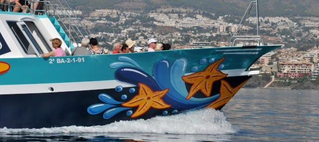 Paseo en barco por Benalmádena y Torremolinos