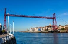 Barco turístico por la Ría de Bilbao y la Bahía del Abra
