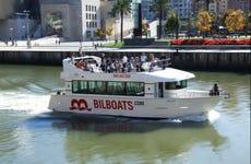 Passeio de barco por Bilbao