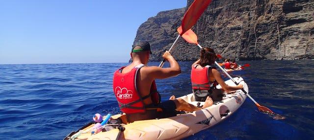 Tour en kayak por la Punta de Teno