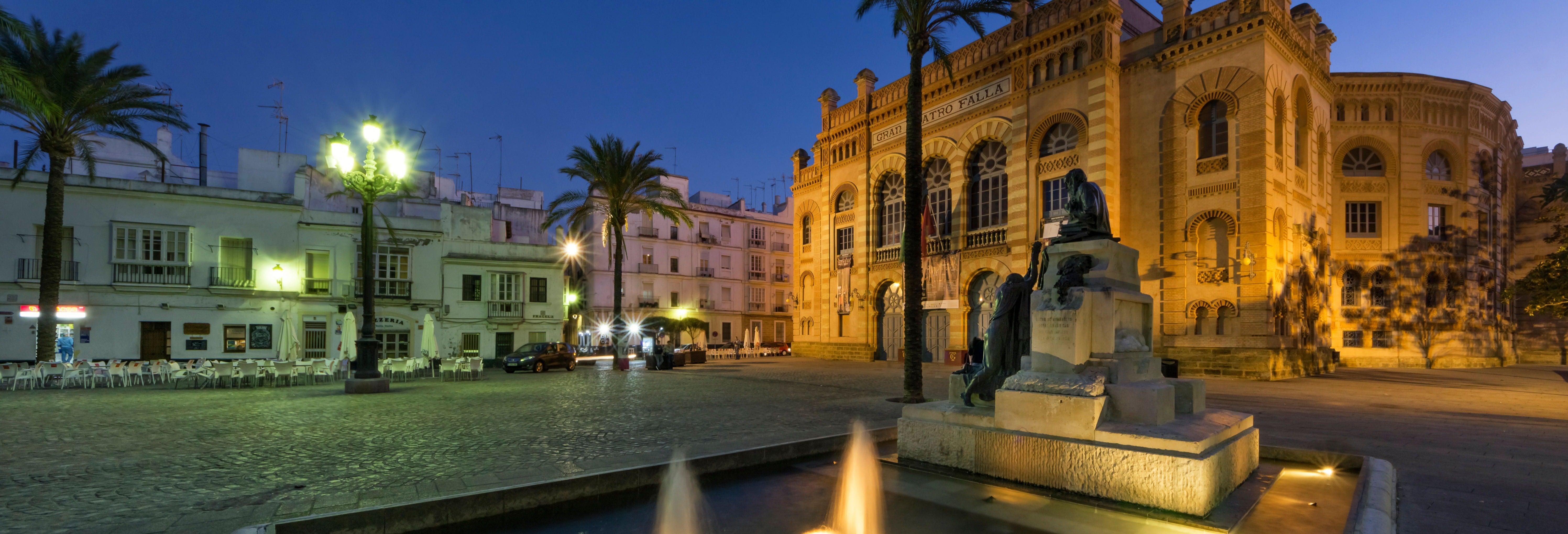 Free tour nocturno por Cádiz