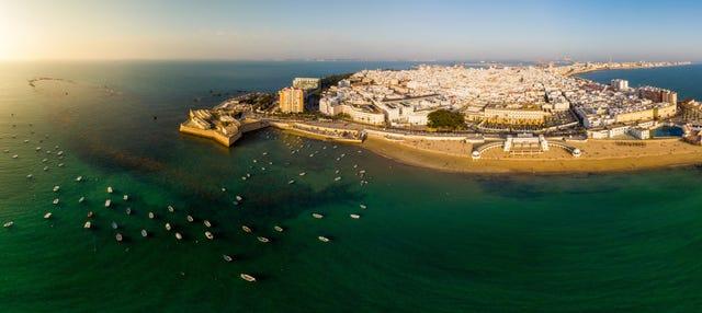 Paseo en barco privado por Cádiz