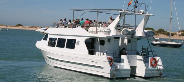 Paseo en catamarán por la bahía de Cádiz