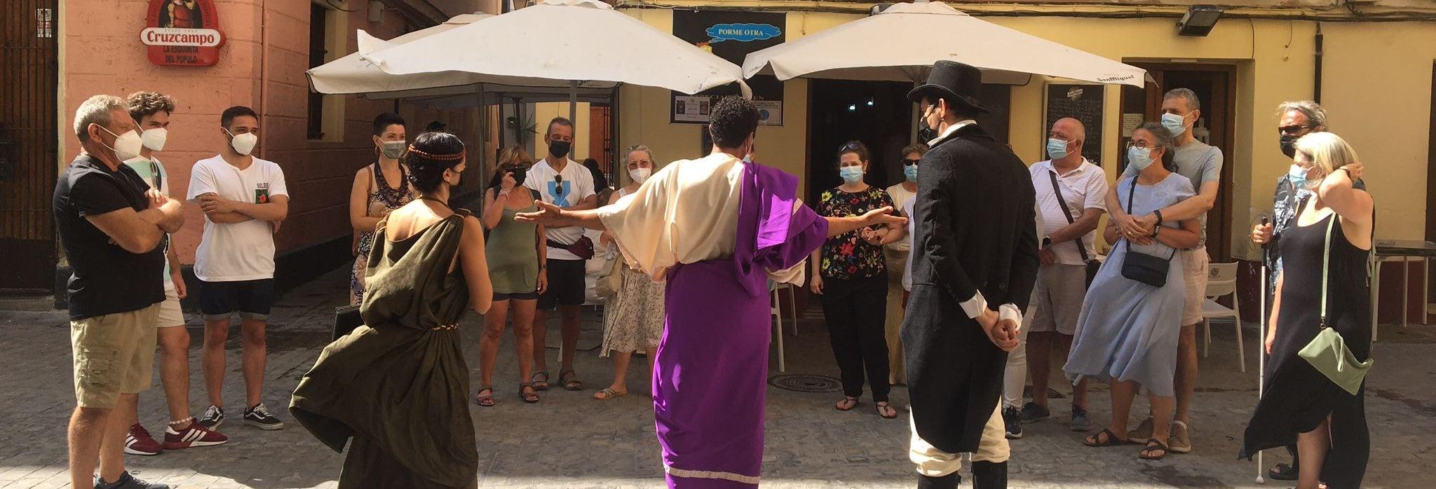 Tour teatralizado por Cádiz