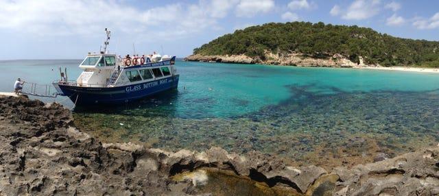 Paseo en barco por el sur de Menorca desde Cala'n Bosch