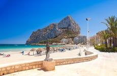 Paseo en catamarán por Calpe