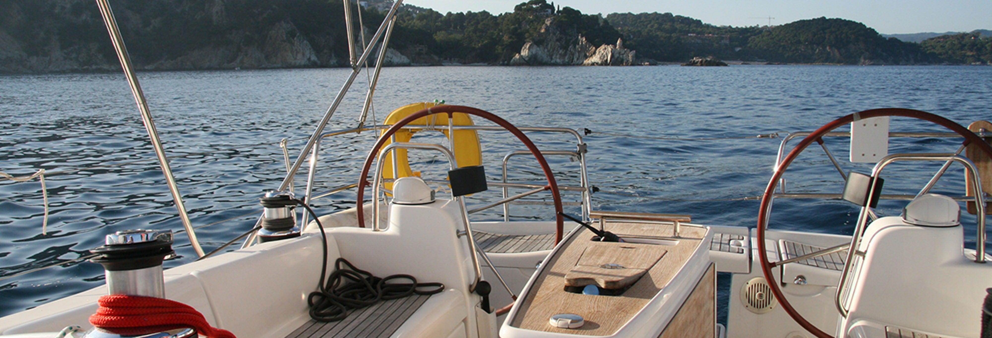 Alquiler de barco con patrón en Cambrils