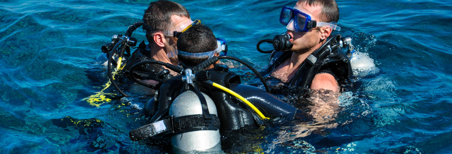 Curso de mergulho PADI Open Water