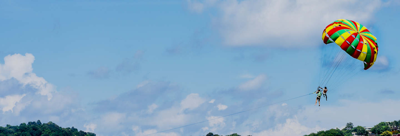 Parachute ascensionnel à Cambrils