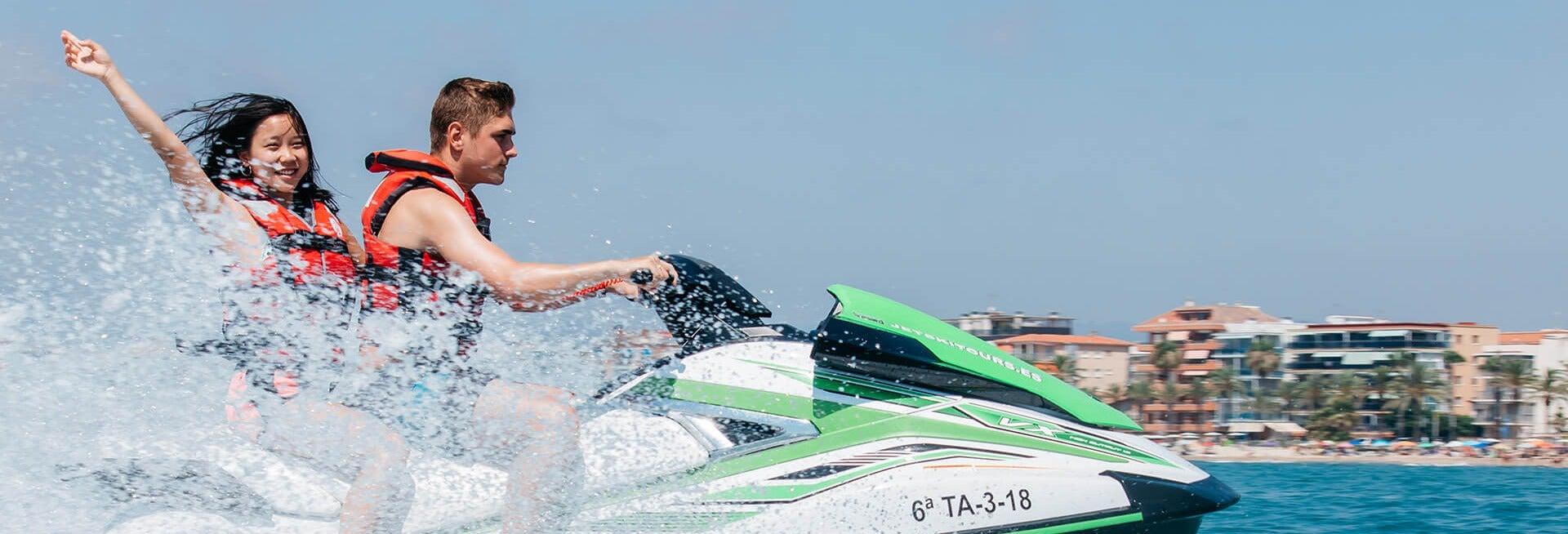 Tour en moto de agua por Cambrils