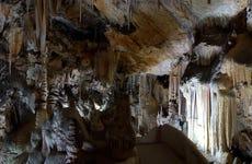 Entrada a las cuevas de Campanent