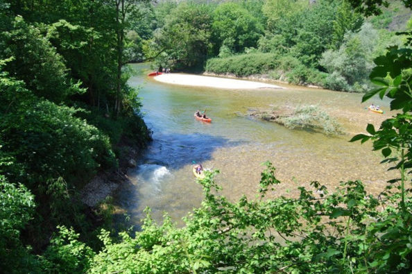 Canoeing on the Sella River in Asturias