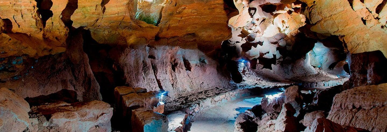 Excursão às grutas de San José