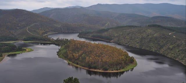 Paseo en barco por el río Alagón