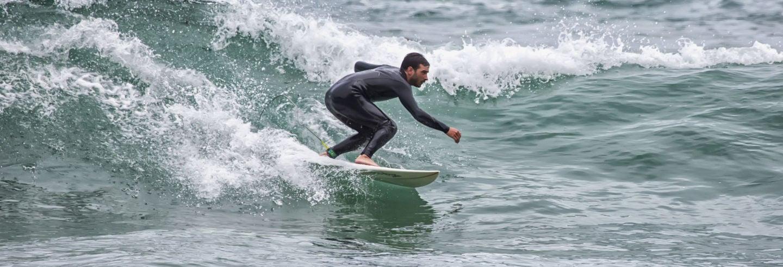Curso de surf en Celorio