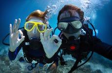 Bautismo de buceo en Ceuta