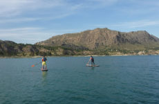 Paddle surf en el embalse de Alfonso XIII