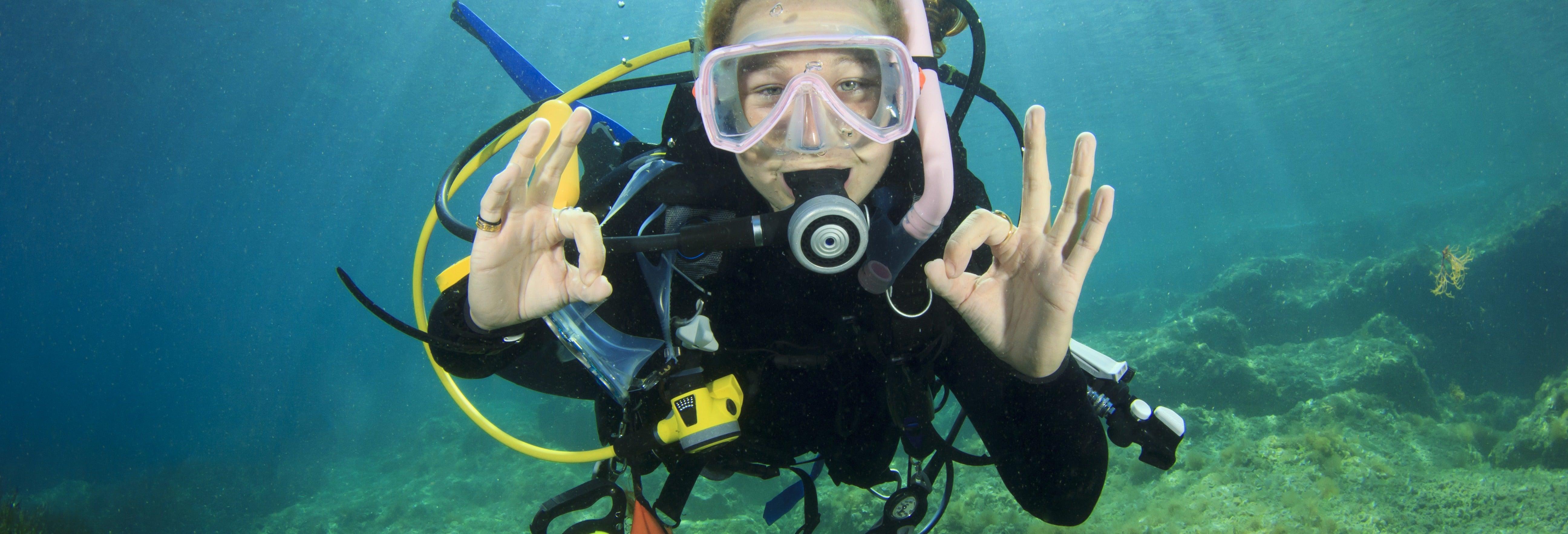 Curso de buceo PADI Scuba Diver desde Ciudadela